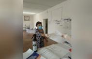 В Ахтынском районе начался первый день голосования
