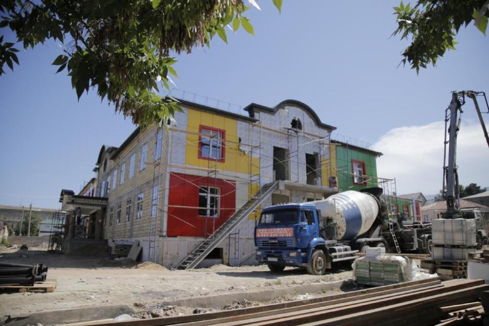 В Дербенте через два месяца достроят детский сад на 140 мест