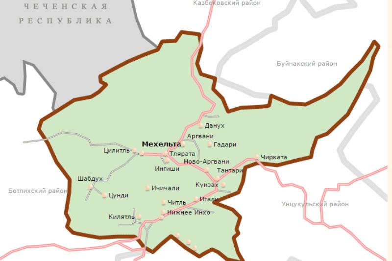 В Гумбетовском районе опровергли установку Чечней пограничных знаков на территории Дагестана