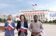 В Дагестане проходит Международная акция #Russia1Love