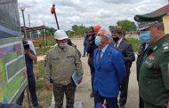 В строительстве COVID-госпиталя в Хасавюртовском районе задействованы местные строители