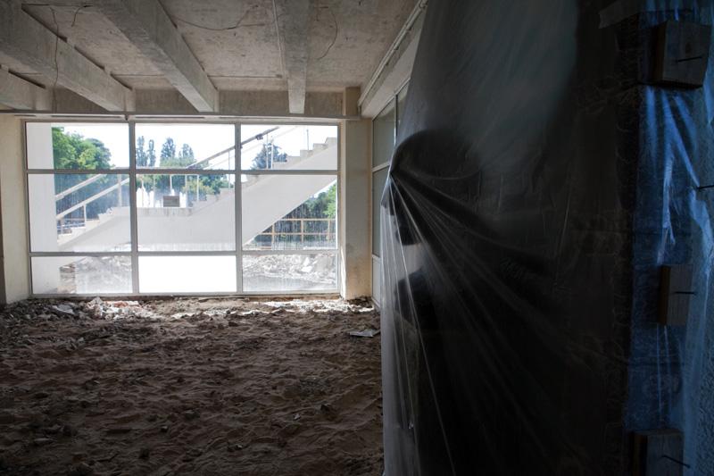 Ремонт здания Аварского театра планируется завершить за три месяца (ФОТО)