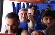 250 граждан Азербайджана из палаточного городка в Дагестане смогли вернуться на родину