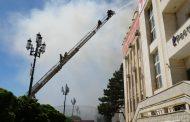 Пожар в здании Ростелекома полностью ликвидирован