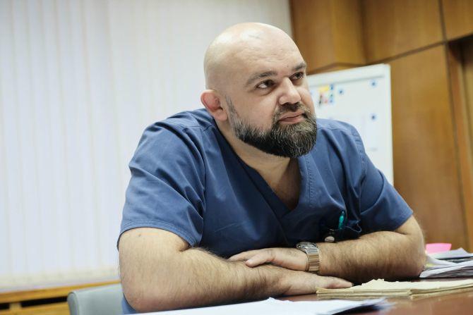 Главврач Коммунарки отправится в Дагестан для помощи в борьбе с коронавирусом