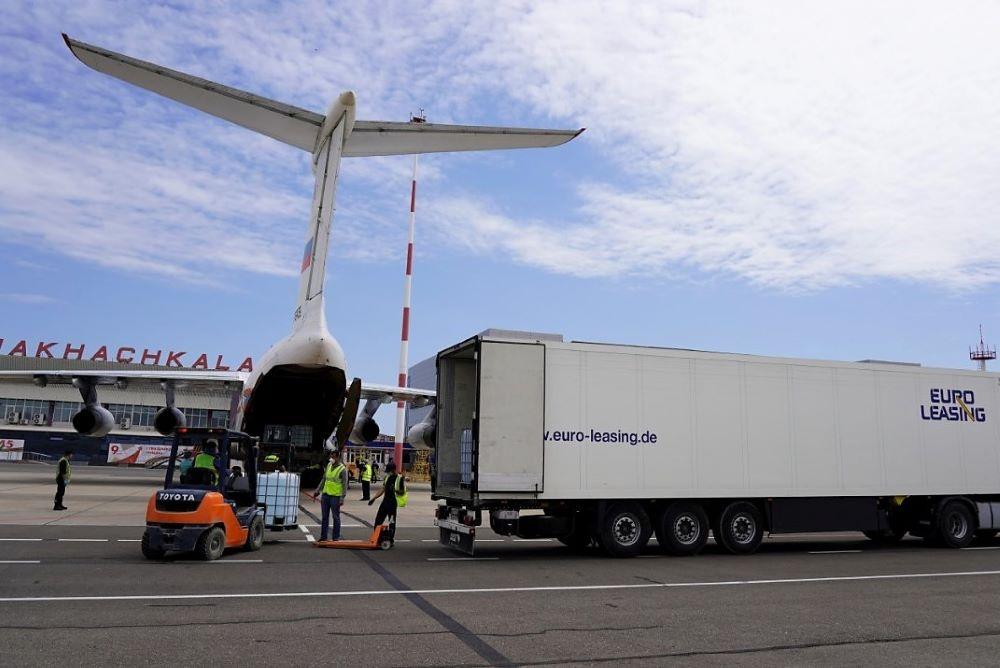 Третий рейс с медицинской помощью от Сулеймана Керимова прибыл в Дагестан