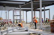 Инфекционный центр в Дербенте круглосуточно строят почти 400 человек