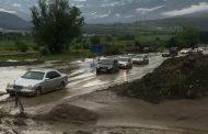 Селевые потоки нарушили транспортное сообщение с тремя селами в Ахтынском районе