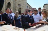 Михаил Бабич и Артем Здунов ознакомились с исторической частью Дербента