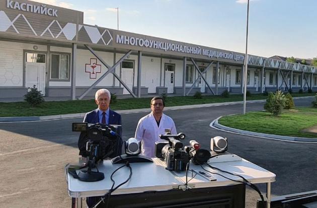 Глава Дагестана поблагодарил Владимира Путина за три построенных в регионе медцентра