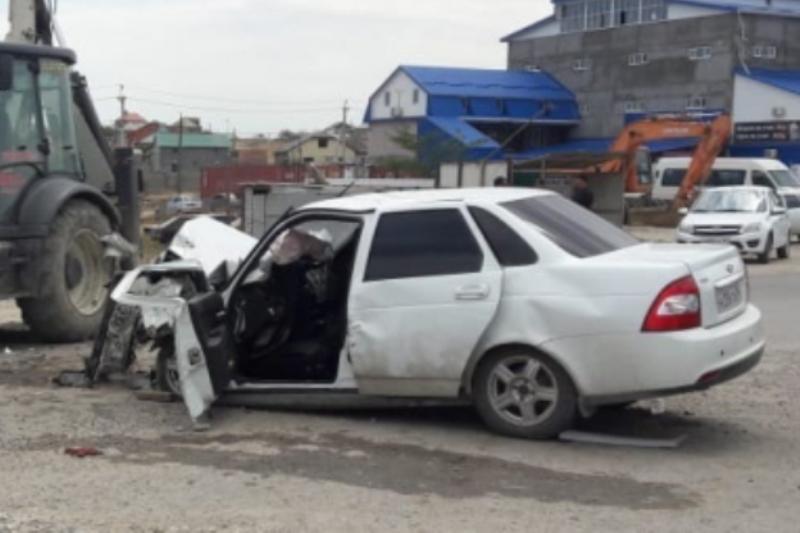 В ДТП в Хасавюрте погибла женщина