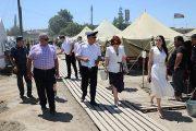 Детский омбудсмен Дагестана посетила временный лагерь в селении Куллар