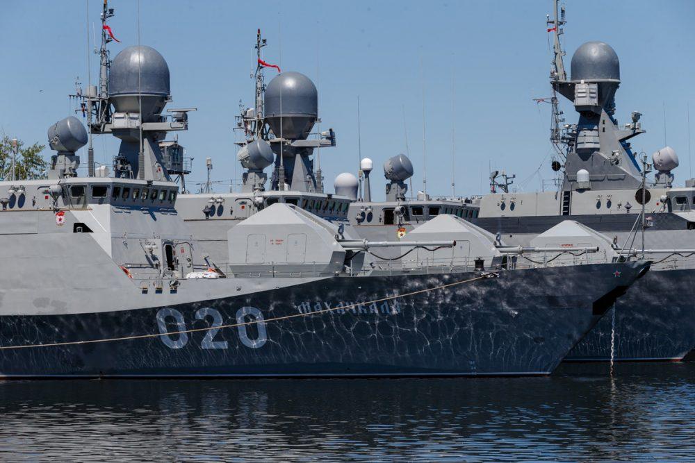 В Каспийске впервые пройдет военно-морской парад