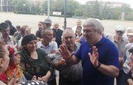 Жители Буйнакска вышли на митинг из-за отсутствия воды в домах