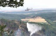 Более 130 человек продолжают тушить три крупных лесных пожара в Дагестане