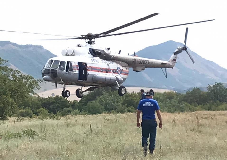 Два крупных лесных пожара близ Махачкалы полностью потушены