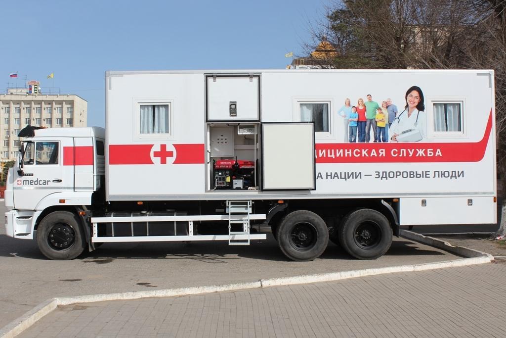 Минздрав: Дагестан получит 54 передвижных медицинских комплекса