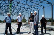 В Кизлярском районе строится овоще-фруктохранилище на 4 тысячи тонн