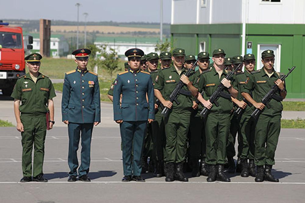 Призывники из Дагестана в Южном военном округе приняли присягу (ФОТО)