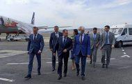 Михаил Бабич прибыл с рабочим визитом в Дагестан