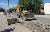 В Кизляре продолжается реализация проекта «Мой Дагестан – мои дороги»