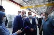 Артем Здунов посетил филиал завода «Азимут» в Махачкале