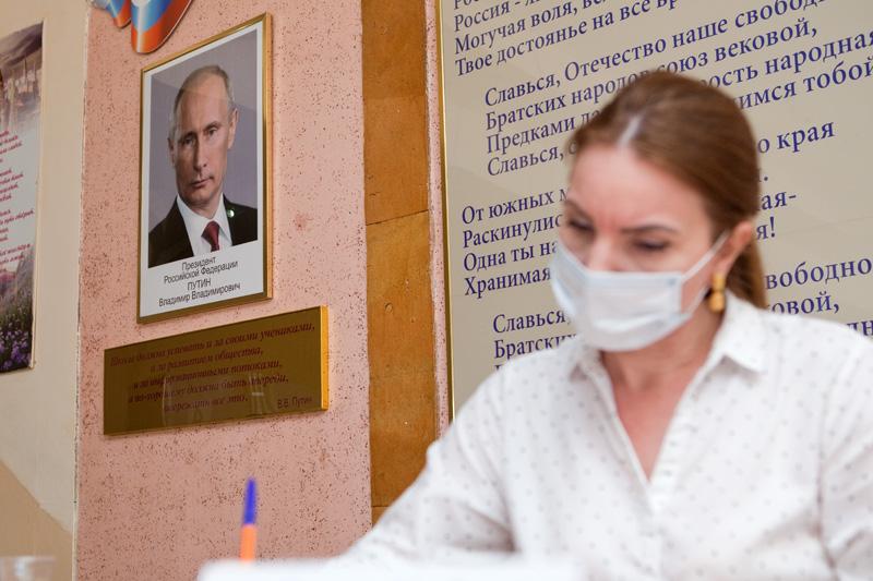 За поправки к Конституции в Дагестане высказались более 89% пришедших на участки