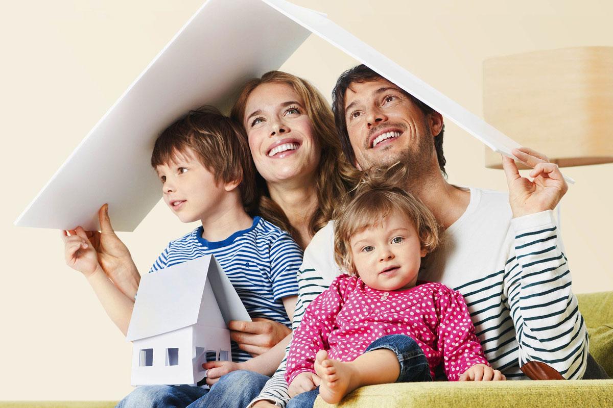 молодая семья дом картинки непосредственной