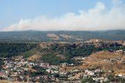 В Махачкале вторые сутки продолжается тушение пожара на мусорном полигоне