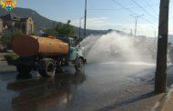 Махачкалинские коммунальщики усилили работу по аэрации дорог