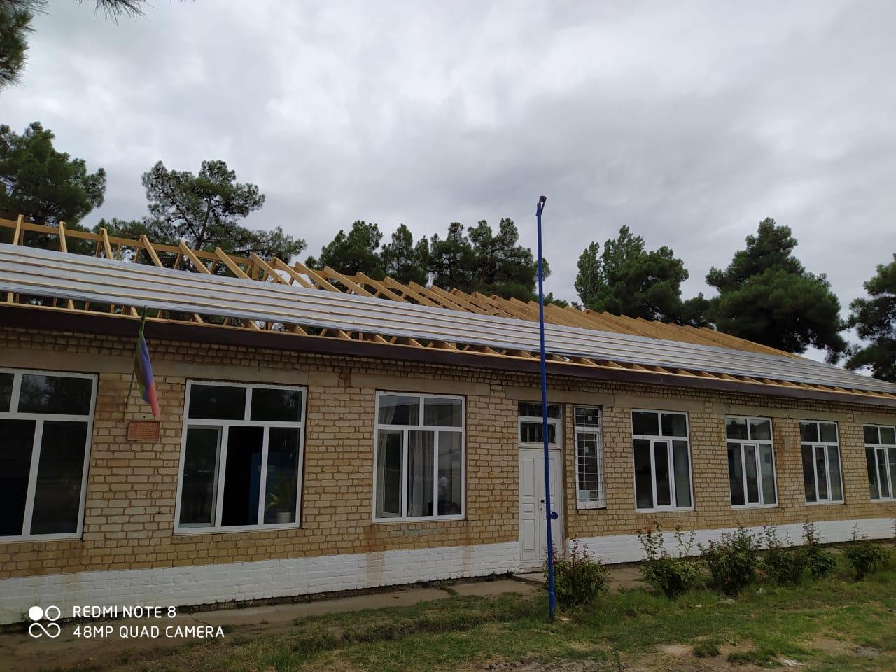 В Сулейман-Стальском районе реализуются программы по ремонту и строительству школ