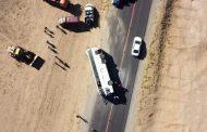 Число пострадавших в ДТП с рейсовым автобусом в Дагестане выросло до 17