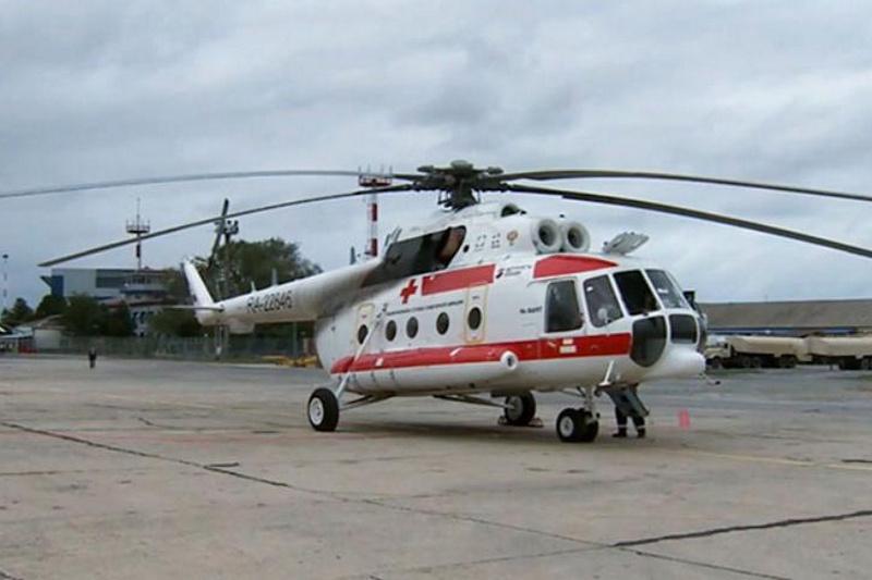 Из Дагестана в Калмыкию направлен вертолет с медиками для помощи пострадавшим в результате ДТП
