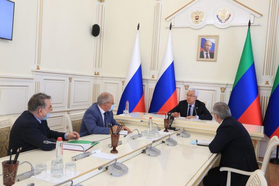 Актуальные вопросы здравоохранения Дагестана рассмотрены под руководством Владимира Васильева