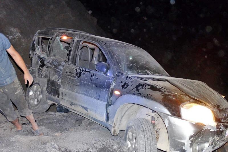 В Лакском районе погиб водитель Mazda, упавшей с обрыва