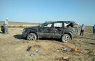 В Тарумовском районе погиб водитель машины, опрокинувшейся в кювет