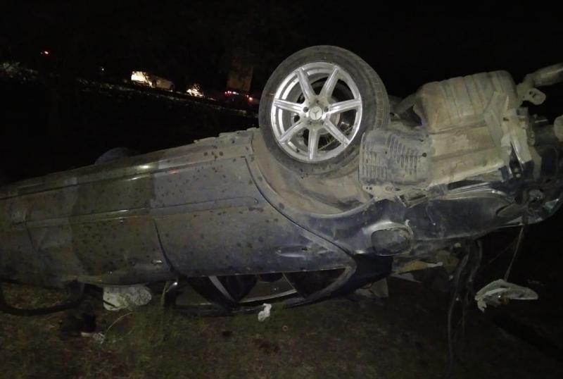 В Ногайском районе после столкновения «мерседеса» и мотоцикла погибли четыре человека