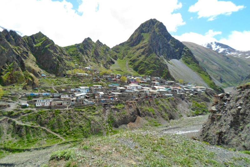 Село Фий в Ахтынском районе отрезано от дорожной сети после ливня
