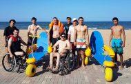 В Махачкале открылся первый на Северном Кавказе пляж для инвалидов-колясочников