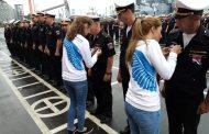 В Дагестане «Волонтеры Победы» провели акции в честь Дня флага России