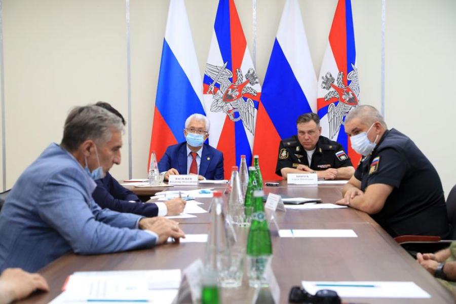 В Дагестане создан Военно-технический Совет при главе республики