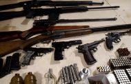 Проведена масштабная операция по задержанию нелегальных оружейников