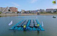 На озере Ак-Гёль запущена плавучая солнечно-аэрационная система