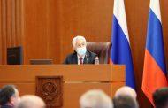 Владимир Васильев принял участие в очередной сессии дагестанского парламента