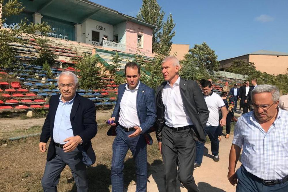 Стали известны детали плана реконструкции стадиона в Каспийске