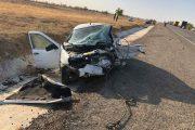 На трассе в Калмыкии столкнулись машины из Дагестана: двое погибших