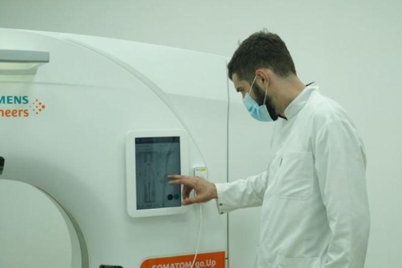 Компьютерный томограф заработал в Республиканском центре инфекционных болезней