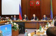 Глава Дагестана принял участие вовсероссийском совещании руководителей контрольно-счетных органов