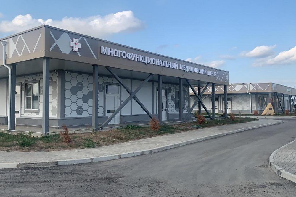 В Дагестане заработал третий медцентр, построенный Министерством обороны России
