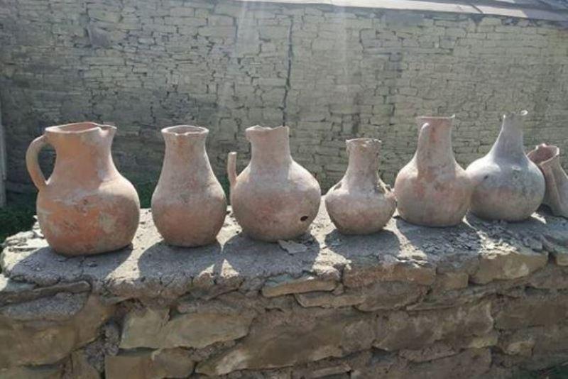 В селе Уркарах во дворе частного дома обнаружено средневековое захоронение